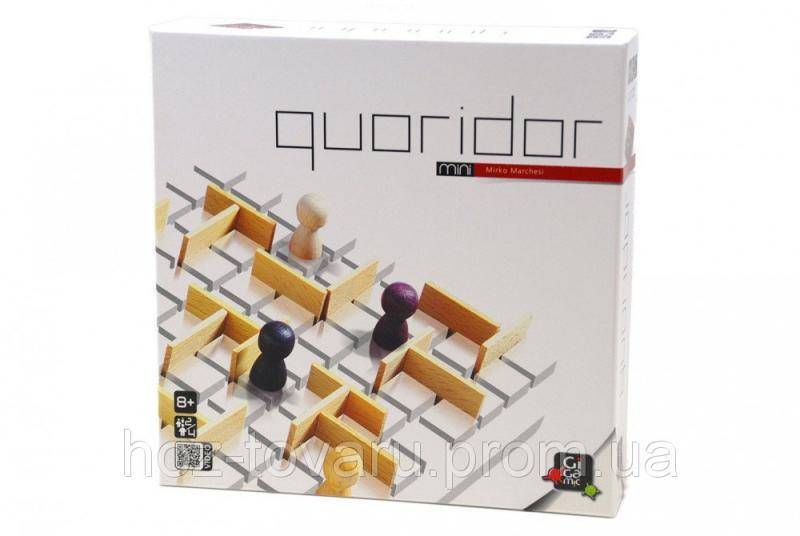 Настольная игра QUORIDOR mini Gigamic (30104) Джигамик