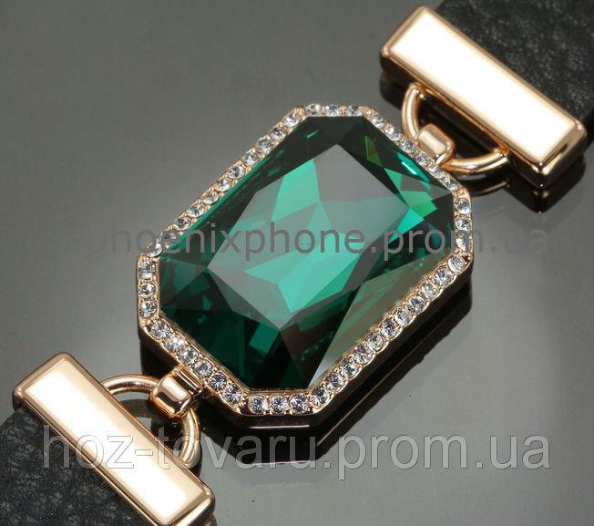 Богатый браслет с кристаллами Swarovsi, покрытый слоями золота (703051)