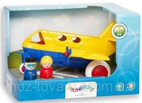 Самолет с фигуркой в подарочной упаковке Viking Toys (81270)