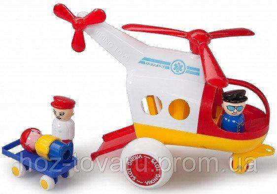 Медицинский вертолет с фигурками Viking Toys (1272)