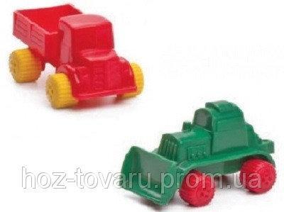 Машинки и трактор Flexitoys (9040) 8 см