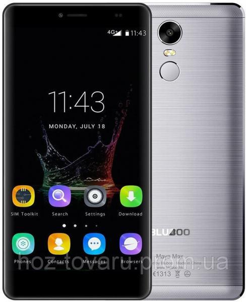 """Bluboo Maya MAX gray  3/32 Gb, 6"""", MT6750, 3G, 4G"""