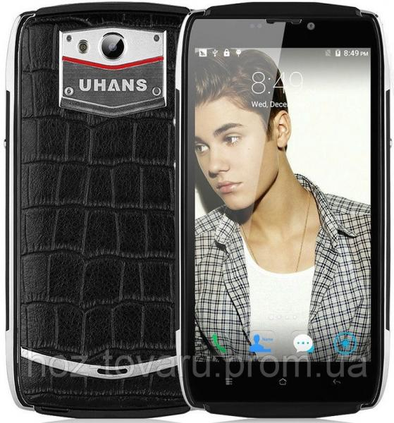 "Uhans U200 black 2/16 Gb , 5"", MT6735, 3G, 4G"