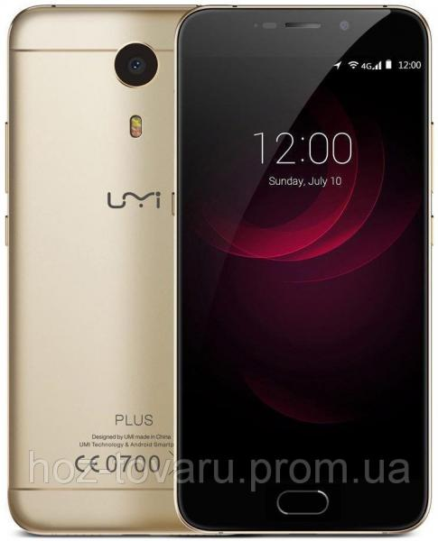 "UMI Plus gold  4/32 Gb, 5.5"", MT6755, 3G, 4G"