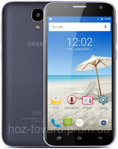 "Uhans A101 black 1/8 Gb, 5"", MT6737, 3G, 4G"