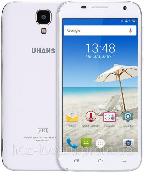 "Uhans A101 white 1/8 Gb, 5"", MT6737, 3G, 4G"