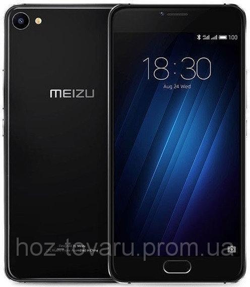 "Meizu U20 Black 2/16 GB, 5.5"", MT6755, 3G, 4G"