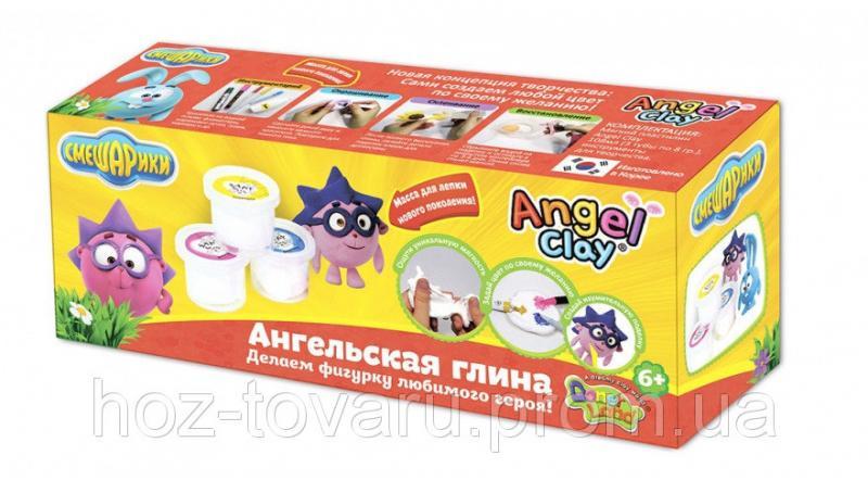 """Мягкая глина Angel Clay набор """"Смешарики. Ежик """" (AA03031SB)"""