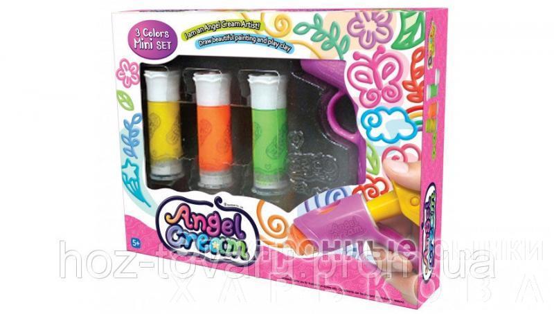 """Набор для лепки мягкий пластилин """"Ангельский крем. 3 цвета"""" Angel Cream (CD08011) - Пластилин и масса для лепки на рынке Барабашова"""