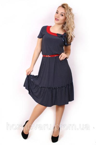 Платье в горошек р-р 98-104 на рынке Барабашово. Сравнить цены на ... d6cff905fcf57