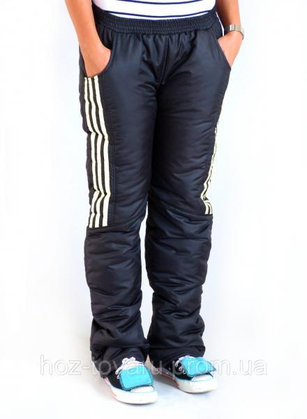 Брюки большого размера Дутики батал, теплые женские брюки из плащевки, дутые штаны большого размера