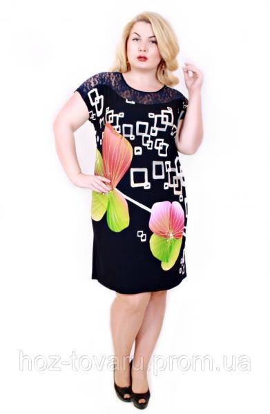 Платье Валенсия Орхидея зеленая