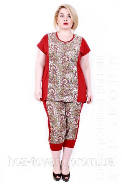 Женский костюм  штапель 211 (2 цвета) - Женские костюмы на рынке Барабашова