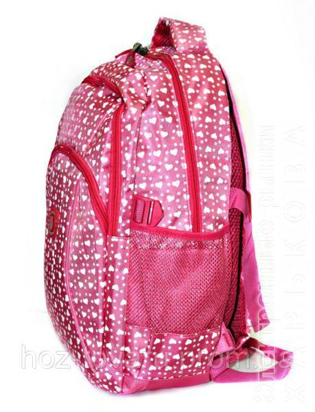 81dd0b330aa1 Рюкзак подростковый (школьный) Jastglad 1322 сердце (2 цвета) - Школьные  рюкзаки и ...