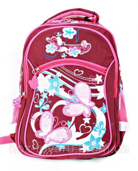 Рюкзак школьный L34 (2 цвета), школьный рюкзак для девочки, розовый рюкзак, рюкзаки оптом,  дропшиппинг