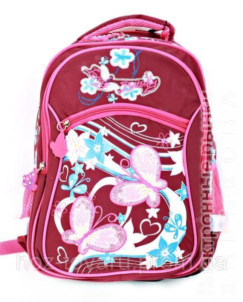 Рюкзак школьный L34 (2 цвета), школьный рюкзак для девочки, розовый рюкзак, рюкзаки оптом,  дропшиппинг - Школьные рюкзаки и портфели на рынке Барабашова