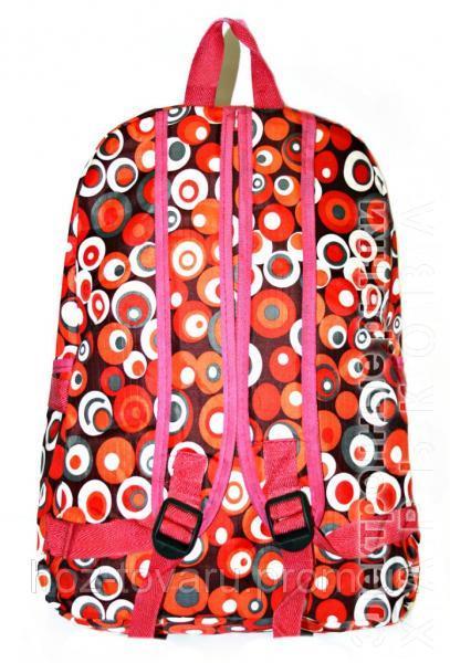 b0b5de452a2b ... Рюкзак подростковый 218 горох красный, рюкзак для школы, рюкзаки  недорого, дропшиппинг украина -