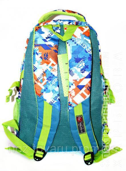 8207626a9ad3 ... рюкзак Рюкзак подростковый (школьный) 11 JM1971 синий/оранж, рюкзак для  школы, рюкзак