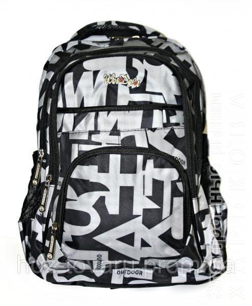 146c8918558a ... рюкзаки и портфели на рынке Барабашова. Рюкзак подростковый (школьный)  JM1797 черный, рюкзак для школы, рюкзак недорого, дропшиппинг