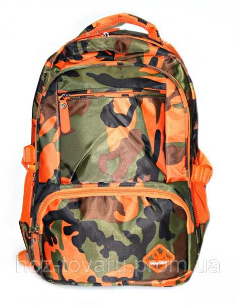 Рюкзак универсальный jy6621 хаки (оранжквый), рюкзаки недорого, дропшиппинг рюкзаки поставщик, школьный рюкзак