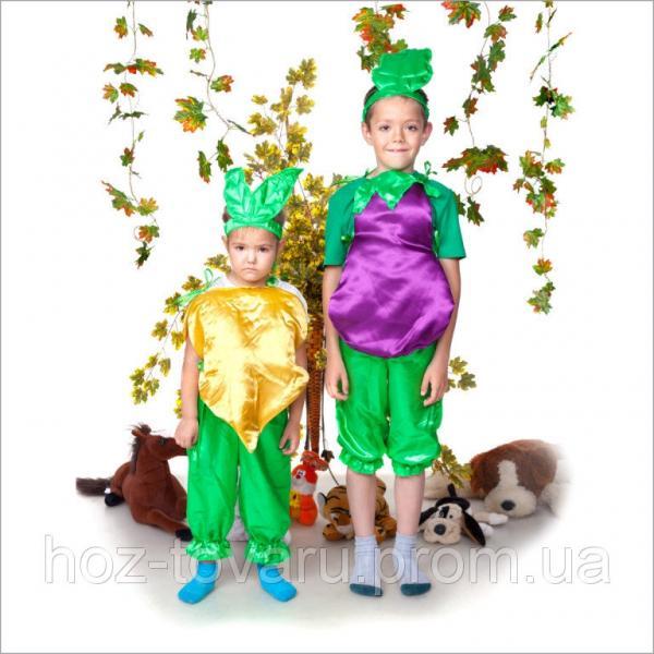 Детский Карнавальный костюм Баклажан, костюм баклажана, костюмы овощей, костюмы фруктов, дропшиппинг поставщик