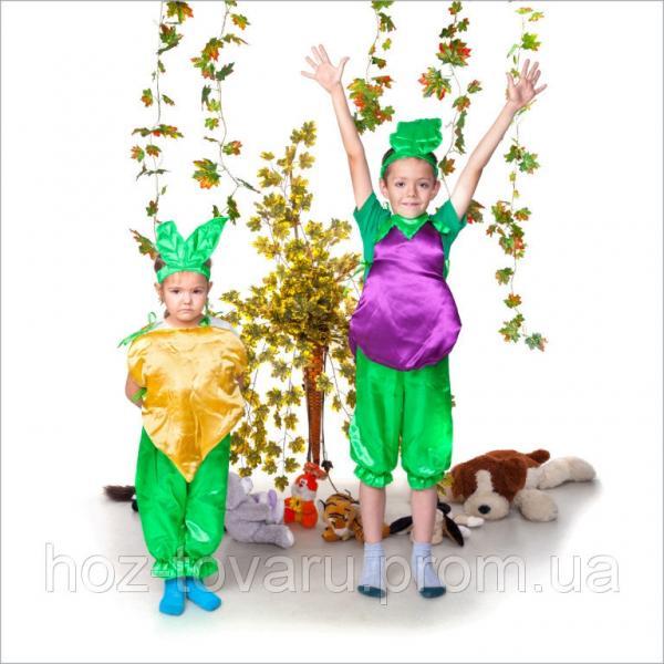 Детский костюм для утренника Репка, костюм репки, костюмы овощей, костюмы фруктов, дропшиппинг поставщик