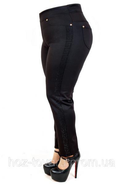 Леггинсы большого размера Батал камни 008, леггинсы для полных женщин, леггинсы от производителя, дропшиппинг