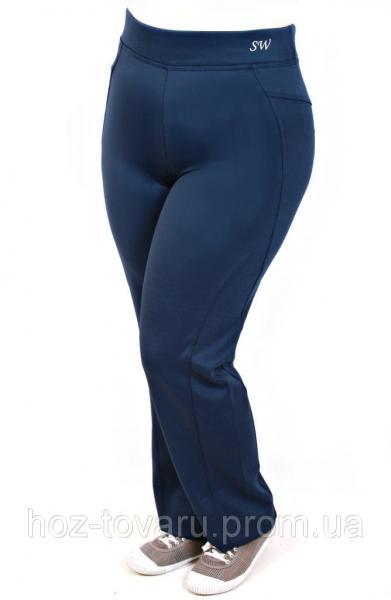 Женские спортивные брюки большого размера 140.2 (2 цвета), женские спортивные брюки для полных, дропшиппинг