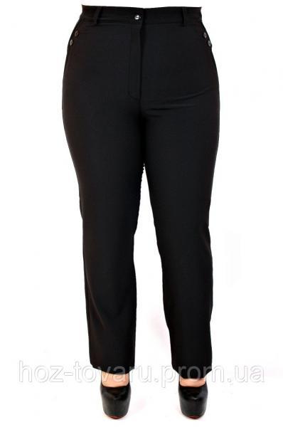 Брюки женские большого размера Офис, классические женские брюки, черные женские брюки, дропшиппинг