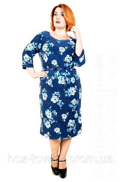 768274f9c2a7 Платье большого размера Брошь орхидея, дропшиппинг украина, платье большого  размера недорого, - Платья