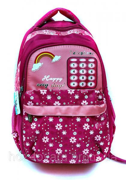 Рюкзак школьный телефон 402 (4 цвета), рюкзак для школы, рюкзак недорого, дропшиппинг украина