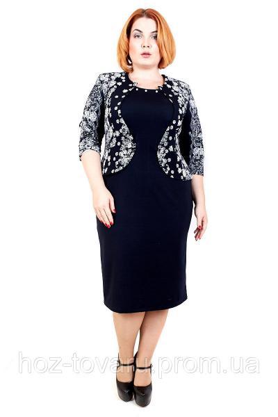 Платье Приора М1, дропшиппинг украина, платье для полных, баталы