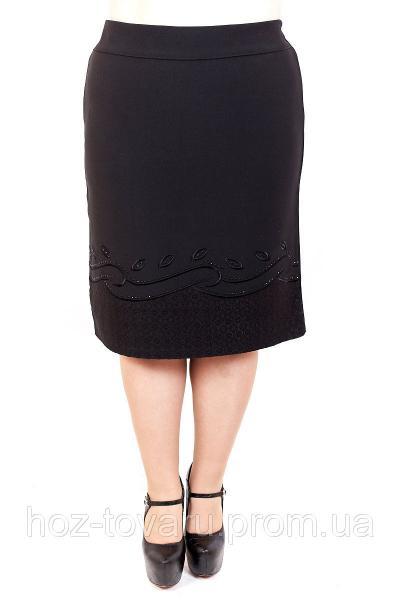 Юбка большого размера Волна, юбка для полных женщин, юбка батал, дропшиппинг