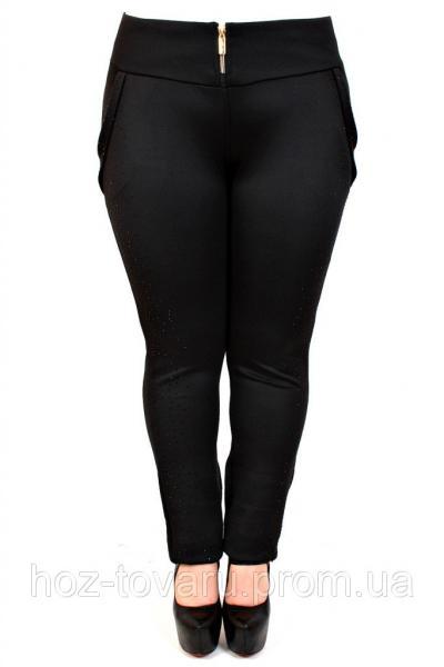 40c869515dcb8 Фото Одежда БОЛЬШИХ размеров, Женские лосины, леггинсы больших размеров  Леггинсы №152 черные камни