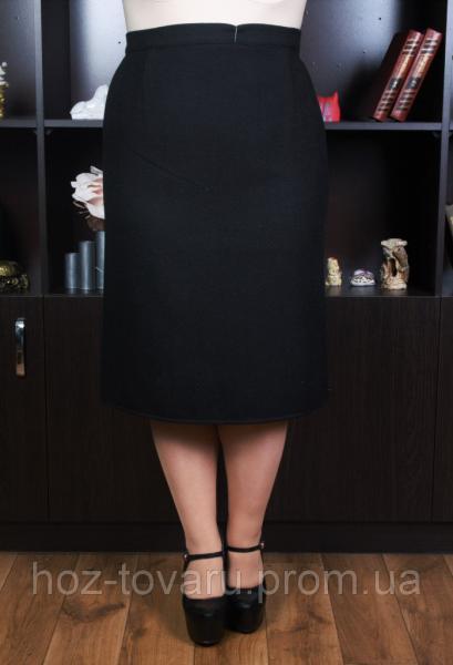 Юбка большого размера Драп №125, юбки для полных, драповая юбка, дропшиппинг