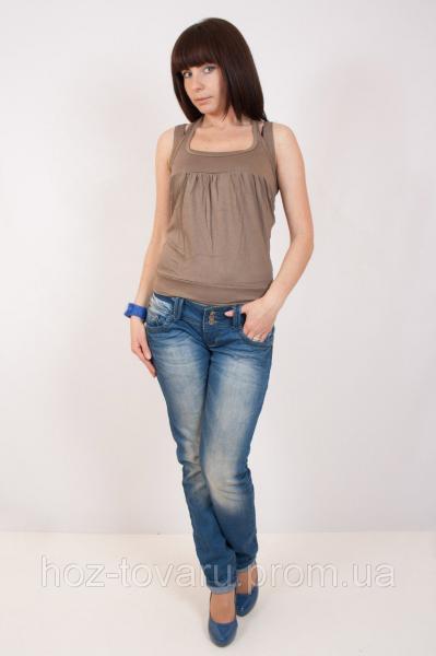 Женская футболка №176 (5 цветов)