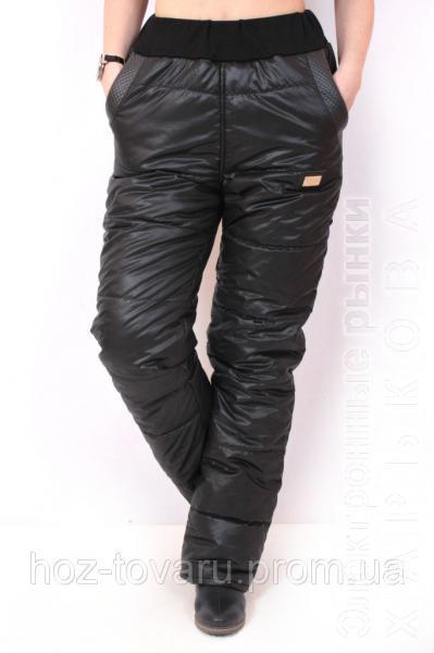 Брюки женские теплые Лиза, зимние женские штаны брюки, брюки из плащевки утепленные, дропшиппинг - Брюки женские на рынке Барабашова