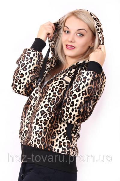 Толстовки и регланы! Толстовка Тундра леопард