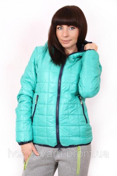 Женские демисезонные куртки Клетка