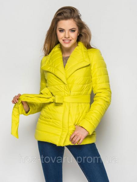 Куртка женская демисезонная С16, демисезонная женская куртка, короткая куртка осень, весна, дропшиппинг