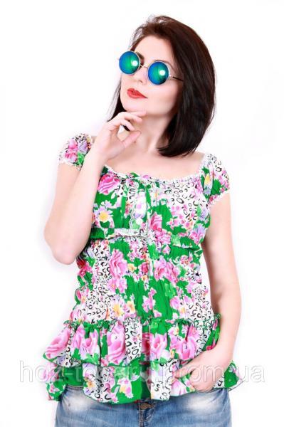 Блуза шифоновая 319 (4 цвета)