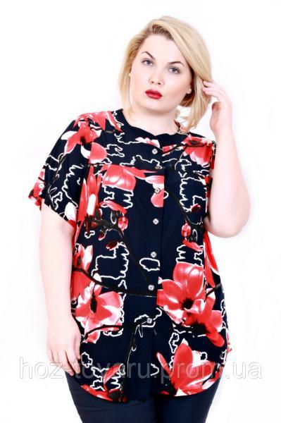Рубашка Тесс 2 лилии (2 цвета)