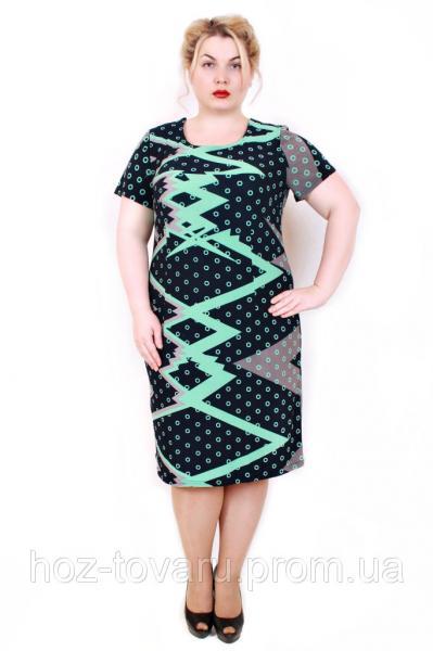 Платье летнее Элегия зигзаг (2 цвета)