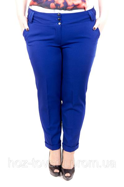 Брюки женские большого размера Классика 051, женские брюки баталы, летние брюки больших размеров