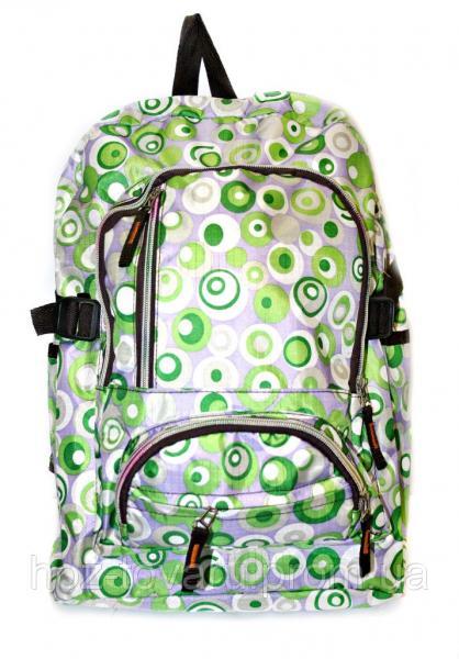 Рюкзак подростковый 218 горох зеленый, рюкзак для школы, рюкзаки недорого, дропшиппинг украина