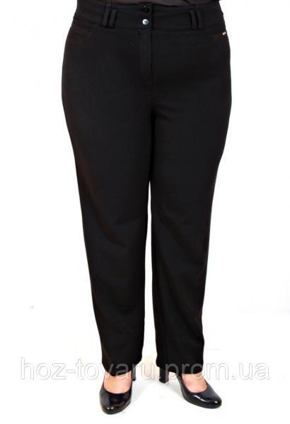 Брюки женские №9, брюки большого размера, демисезонные брюки большого размера, дропшиппинг, брюки черные