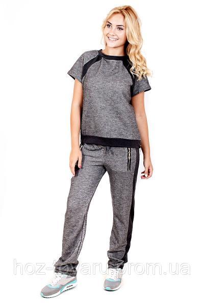 Костюм спортивный женский 420/421, трикотажный спортивный костюм женский, женская спортивная одежда,дропшиппиг