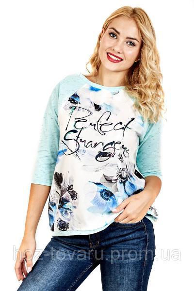 Футболка женская Березка перфект (2 цвета), футболки оптом, женская футболка недорого, дропшиппинг  поставщик