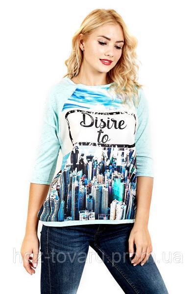 Футболка женская Березка disive, футболки оптом, женская футболка с рукавом, дропшиппинг  поставщик