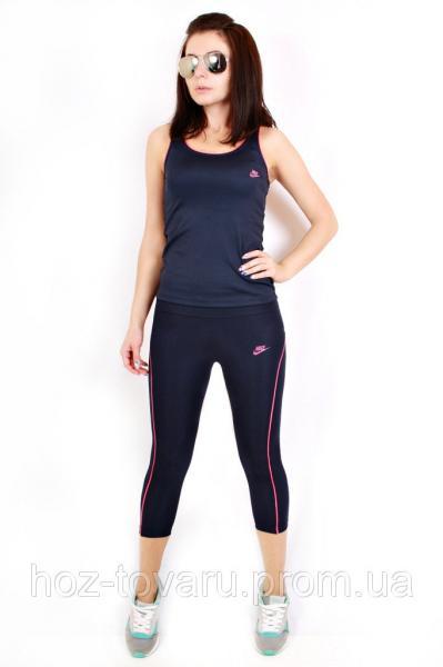 Спортивный комплект для фитнеса Найк 81703 02-01/17 (2цв), женская спортивная одежда, для фитнеса, дропшиппинг